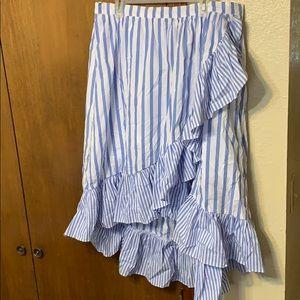 NWOT Women's A New Day Striped Skirt Sz 2XL